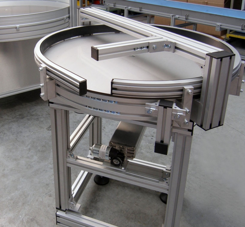 Turntable constructed out of aluminum