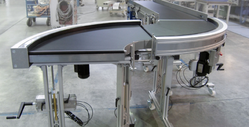 Aluminum Conveyors Belt Conveyors Amp Material Handling Mk