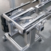 Pallet conveyor with lift and rotate