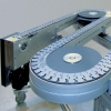 Z shaped table top chain conveyor