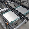 Pallet transfer conveyor system