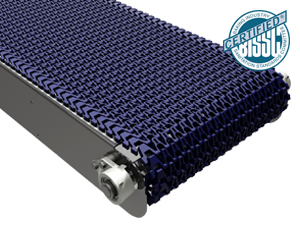 mk offers the CMP-400 a stainless steel plastic modular belt conveyor in our CleanMove Plus series.