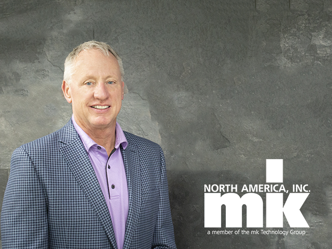 Bill Dick territory manager for MI for mk North America