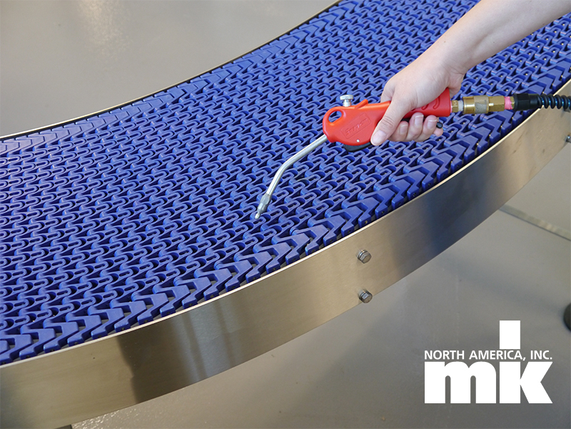 How to Clean Stainless Steel Conveyors