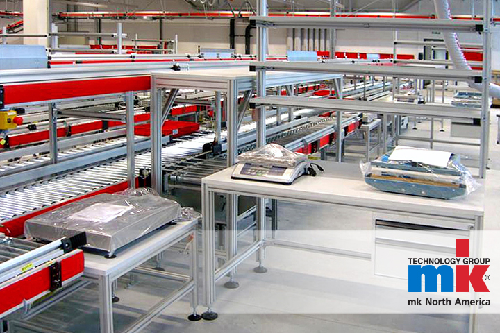 Ergonimic conveyor systems and ergonomic factory work stations from mk North America