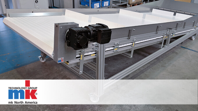heavy duty conveyor system from mk north america