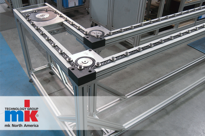 6f63f53040076 ... conveyor from mk North America delivers reliable performance.  Synchronous Pallet System