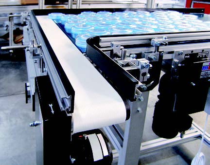 An industrial belt conveyor from mk North America