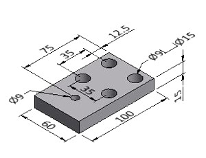 Base Plate 1 - Series 50