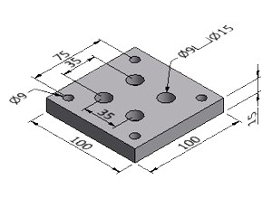 Base Plate 4 - Series 50
