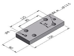 Base Plate 5 - Series 50