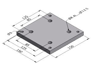 Base Plate 8 - Series 50