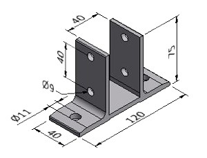Floor Mounting Bracket 1