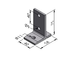 Floor Mounting Bracket 2