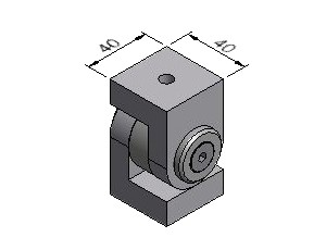 Joint B01, Joints, Multi-Angle & Parallel Aluminum Connectors, Aluminum Connectors