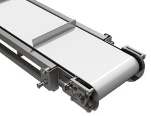 mk offers the CCB-600 a cleated belt stainless steel conveyor ideal for high pressure washdown applications.