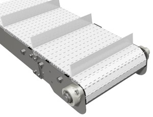 mk offers the CCM-200 a stainless steel cleated plastic modular belt conveyor.