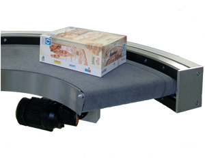 mk offers the KGF-P 2040 a curve belt conveyor.
