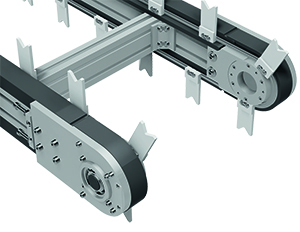 Attachment chain conveyor