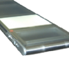 Back light conveyor with clear belt