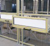 Photo of Extruded Aluminum Machine Guard with an Installed Transfer Drawer